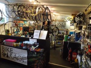 Bike Garage interior